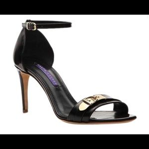 Ralph Lauren Collection Leather Buckle Sandal New